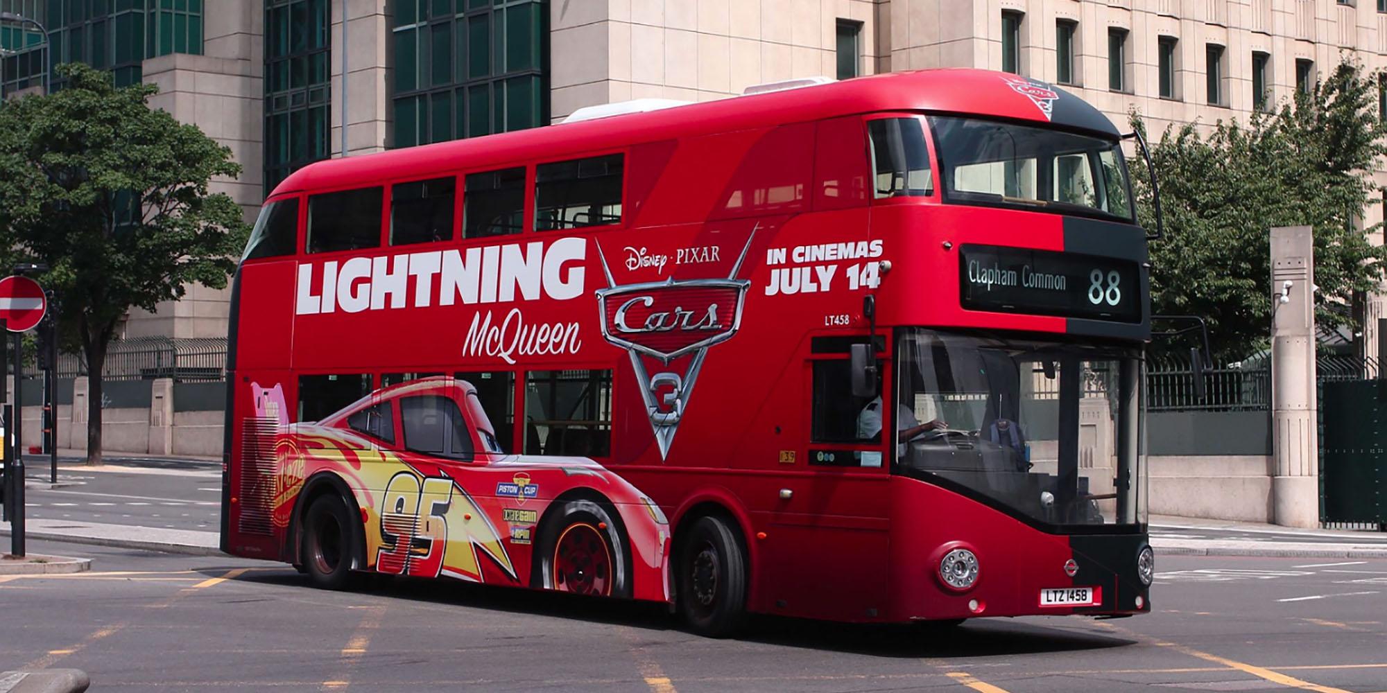 london bus advertising